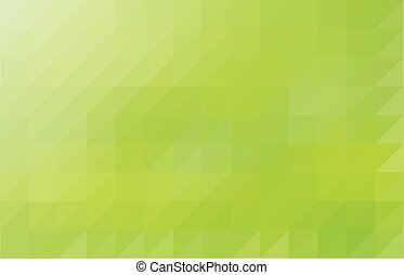 Light green colored triangular pattern background