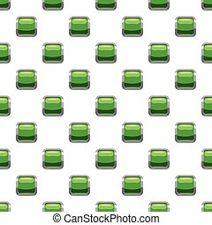 Light green square button pattern