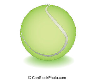 light-green tennis ball