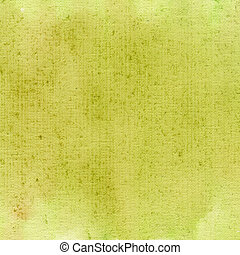 light green watercolor abstract with canvas texture