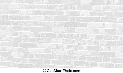 Light grey brick wall - Light grey clay brick and mortar ...
