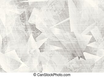 Light grey grunge polygonal tech abstract background