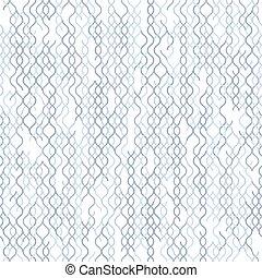 Light grey on white background random line pattern -...