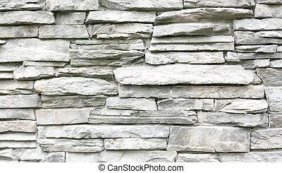 light grey stone wall