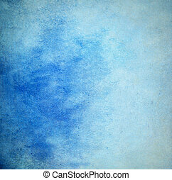 Light grunge blue painted background