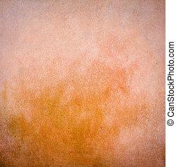 Light grunge orange painted background