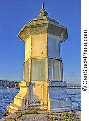 light house, Geneva Switzerland