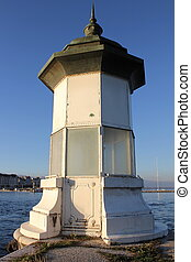 light house lake Geneva, Switzerland