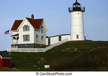 Light house in New England