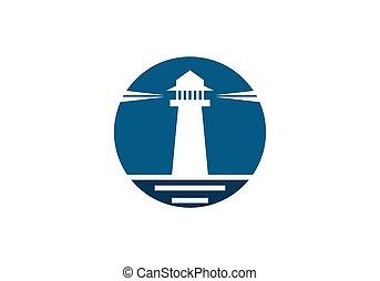 Light House Logo vector