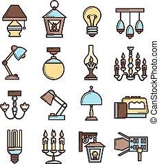 Light Icon Set