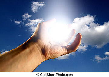 god bless - light in hand god bless to you
