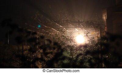light in the darkness night