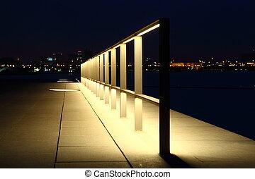 Light in The Night Doha Qatar
