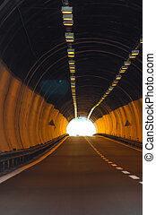 Light in the tonnel concept
