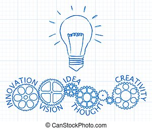 Light Innovation Gear Wheels Paper