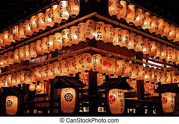 Light Invasion - impressive aspect of night paper lanterns ...
