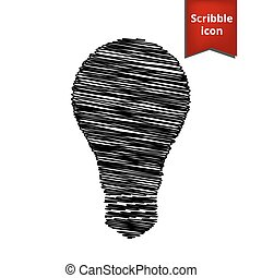 Light lamp sign icon. Idea symbol
