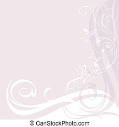 Light lilac ornamental background