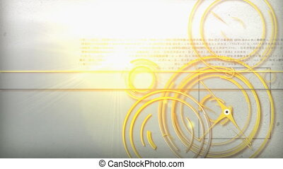 light line technology - Motion graphic line of technology...