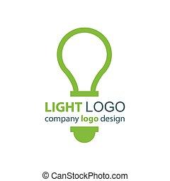 light logo green design