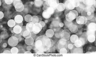 Light movement of black and white blur abstract background