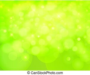 light nature Vector bokeh background made from white lights