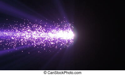 light particle spark abstract ray motion 4k