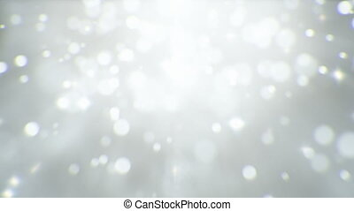 Light particles abstract background seamless loop