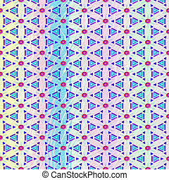 light pastel pattern with red flowers