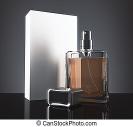 Light perfume with packaging