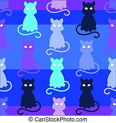Light Pets Seamless Pattern