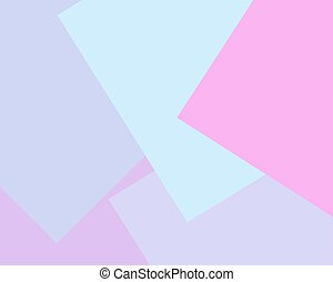 Light pink, light blue, lilac vector blurred rectangular background. Geometric background in square style with gradient.