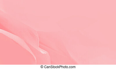 Light pink watercolor abstract background with blurred lines, 16:9 panoramic format
