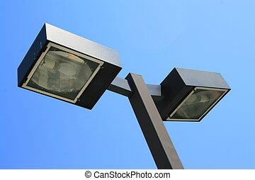 Light Pole - Close up of a light pole.