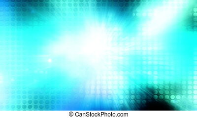 Light rays and geometric pattern - Looping light rays and...