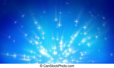 Light rays and stars background - Light rays and stars...