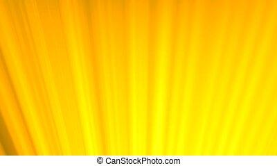 Light rays beams orange sun sunshine warm hot calm loop 4K