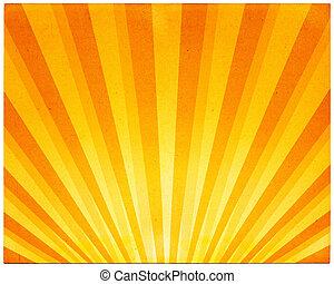 Light Rays on Paper