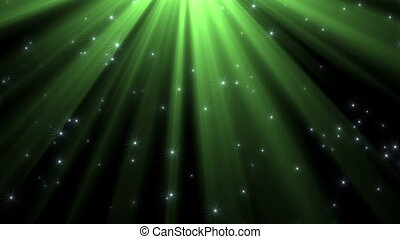 Light shining from above - Shining light from above with...