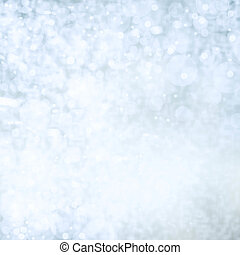 Light silver abstract background with twinkled magic holiday...