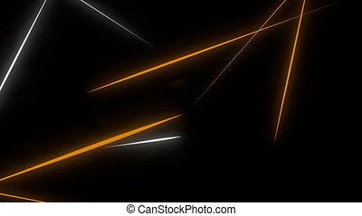 Light slashing effect