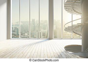 Light spacious interior