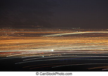 light speed blur