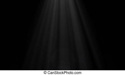 Light, spotlights lighting flare animation on a dark background, abstract 2
