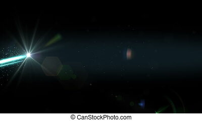 light streaks abstract