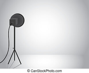 Light Studio  - Empty studio with professional light