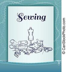 Light Tailoring Card Template