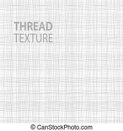 Light Thread fabric texture, vector illustration for your...