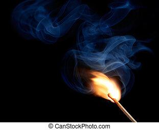 light up a match
